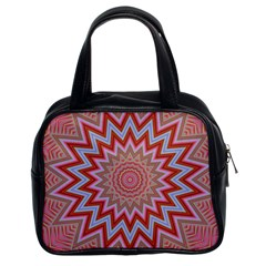Abstract Art Abstract Background Classic Handbag (two Sides)