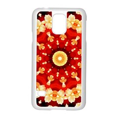 Abstract Art Abstract Background Samsung Galaxy S5 Case (white)
