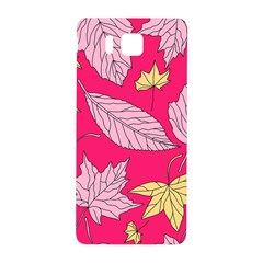 Autumn Dried Leaves Dry Nature Samsung Galaxy Alpha Hardshell Back Case by Wegoenart
