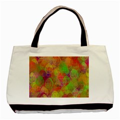 Easter Egg Colorful Texture Basic Tote Bag