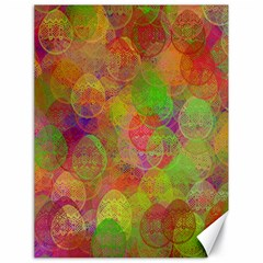 Easter Egg Colorful Texture Canvas 18  X 24