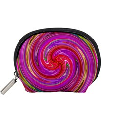 Abstract Art Abstract Background Accessory Pouch (small)