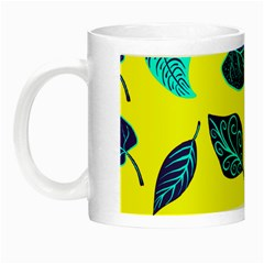 Leaves Pattern Picture Detail Night Luminous Mugs