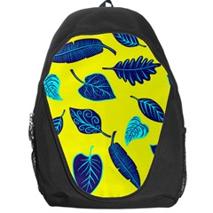 Leaves Pattern Picture Detail Backpack Bag