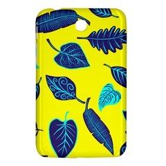 Leaves Pattern Picture Detail Samsung Galaxy Tab 3 (7 ) P3200 Hardshell Case