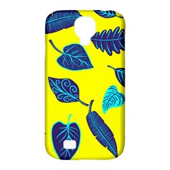 Leaves Pattern Picture Detail Samsung Galaxy S4 Classic Hardshell Case (pc+silicone)