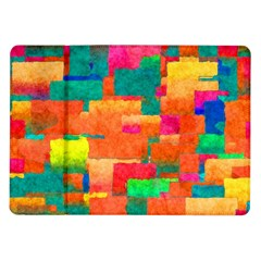 Pattern Texture Background Color Samsung Galaxy Tab 10 1  P7500 Flip Case