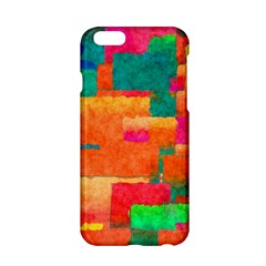 Pattern Texture Background Color Apple Iphone 6/6s Hardshell Case by Wegoenart