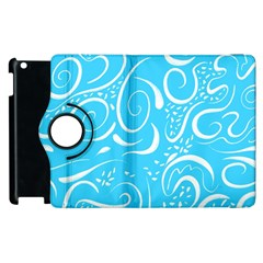 Scribble Reason Design Pattern Apple Ipad 3/4 Flip 360 Case