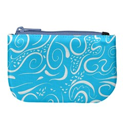 Scribble Reason Design Pattern Large Coin Purse