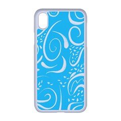Scribble Reason Design Pattern Apple Iphone Xr Seamless Case (white)