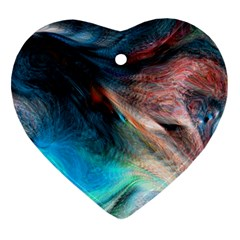 Background Art Abstract Watercolor Ornament (heart)