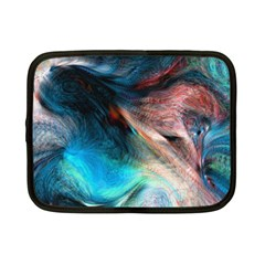 Background Art Abstract Watercolor Netbook Case (small) by Wegoenart