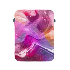 Background Art Abstract Watercolor Apple Ipad 2/3/4 Protective Soft Cases by Wegoenart