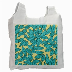 Leaves Dried Leaves Stamping Recycle Bag (one Side)