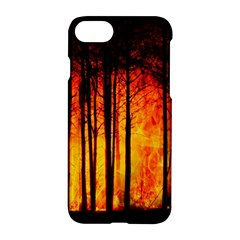 Forest Fire Forest Climate Change Apple Iphone 7 Hardshell Case