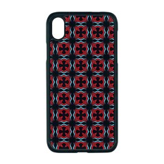 Pattern Design Artistic Decor Apple Iphone Xr Seamless Case (black)