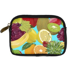 Fruit Picture Drawing Illustration Digital Camera Leather Case by Wegoenart
