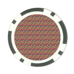Colorful Background Colorful Backdrop Poker Chip Card Guard (10 Pack) by Wegoenart
