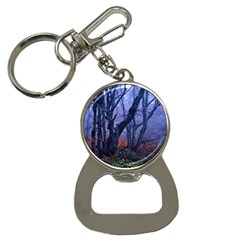 Beeches Autumn Foliage Forest Tree Bottle Opener Key Chains by Wegoenart