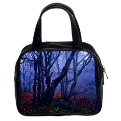 Beeches Autumn Foliage Forest Tree Classic Handbag (two Sides)