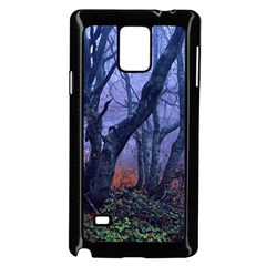 Beeches Autumn Foliage Forest Tree Samsung Galaxy Note 4 Case (black)