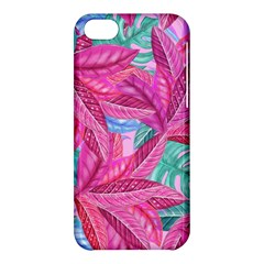 Leaves Tropical Reason Stamping Apple Iphone 5c Hardshell Case