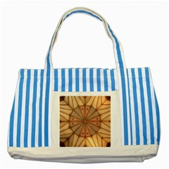 York Minster Chapter House Striped Blue Tote Bag