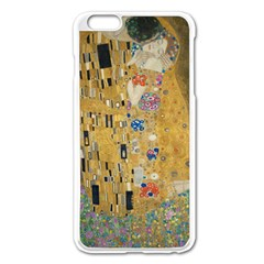 Klimt   The Kiss Apple Iphone 6 Plus/6s Plus Enamel White Case