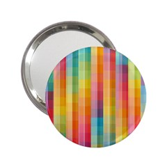 Pattern Background Colorful Abstract 2 25  Handbag Mirrors