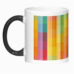 Pattern Background Colorful Abstract Morph Mugs