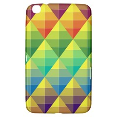 Background Colorful Geometric Samsung Galaxy Tab 3 (8 ) T3100 Hardshell Case
