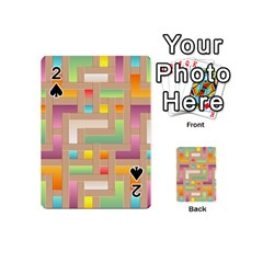 Abstract Background Colorful Playing Cards 54 (mini)