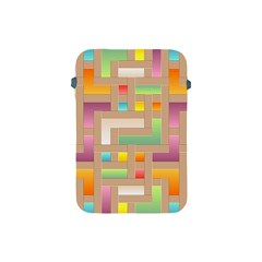 Abstract Background Colorful Apple Ipad Mini Protective Soft Cases by Wegoenart