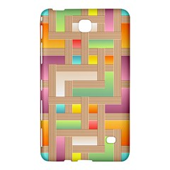 Abstract Background Colorful Samsung Galaxy Tab 4 (7 ) Hardshell Case