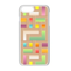 Abstract Background Colorful Apple Iphone 7 Plus Seamless Case (white)
