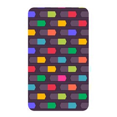 Background Colorful Geometric Memory Card Reader (rectangular)