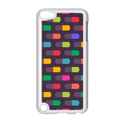 Background Colorful Geometric Apple Ipod Touch 5 Case (white)