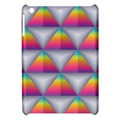 Trianggle Background Colorful Triangle Apple Ipad Mini Hardshell Case
