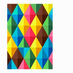 Background Colorful Abstract Small Garden Flag (two Sides)