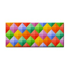 Colorful Geometric Hand Towel