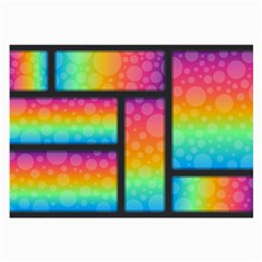Background Colorful Abstract Large Glasses Cloth by Wegoenart