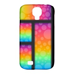 Background Colorful Abstract Samsung Galaxy S4 Classic Hardshell Case (pc+silicone)