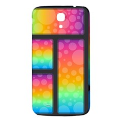 Background Colorful Abstract Samsung Galaxy Mega I9200 Hardshell Back Case
