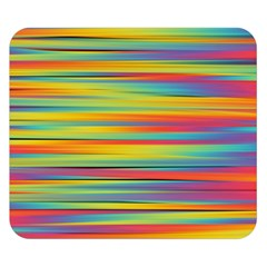 Colorful Background Pattern Double Sided Flano Blanket (small)