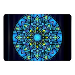 Mandala Blue Abstract Circle Apple Ipad Pro 10 5   Flip Case