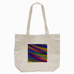 Colorful Background Tote Bag (cream)