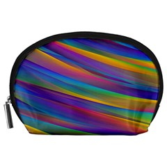 Colorful Background Accessory Pouch (large)