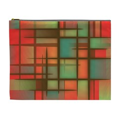Background Abstract Colorful Cosmetic Bag (xl) by Wegoenart
