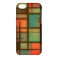 Background Abstract Colorful Apple Iphone 5c Hardshell Case